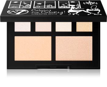 W7 Cosmetics Glow for Glory palette d'enlumineurs