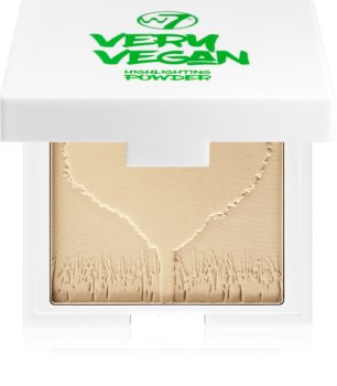 W7 Cosmetics Very Vegan enlumineur poudre compact
