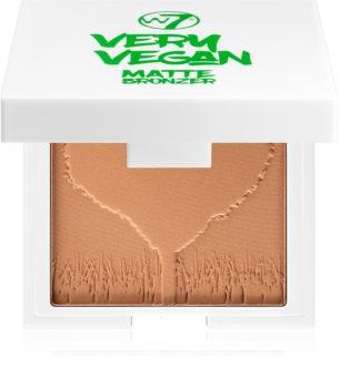 W7 Cosmetics Very Vegan Matte Bronzer mit Matt-Effekt