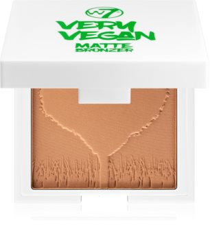 W7 Cosmetics Very Vegan Matte bronzer z matowym wykończeniem