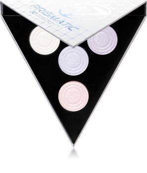 W7 Cosmetics 3D Prismatic Palette палитра с озарители