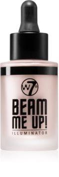 W7 Cosmetics Beam Me Up! flüssiger Aufheller
