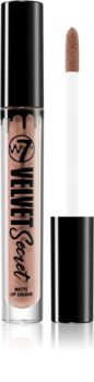 W7 Cosmetics Velvet Secret матиращо течно червило
