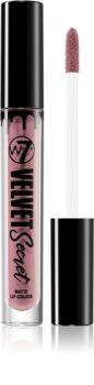 W7 Cosmetics Velvet Secret rouge à lèvres liquide mat