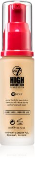 W7 Cosmetics HD hydratisierendes cremiges Make-up