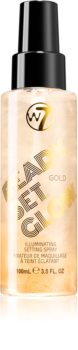 W7 Cosmetics Ready/Set/Glow rozjasňující fixační sprej