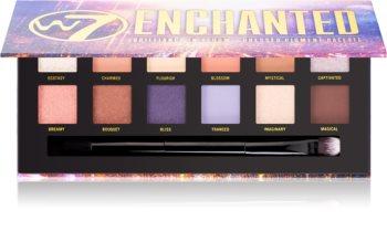 W7 Cosmetics Enchanted paletă cu farduri de ochi