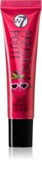 W7 Cosmetics Paradise Pout! rossetto metalizzato