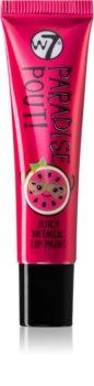 W7 Cosmetics Paradise Pout! Lippenstift mit Metallic-Effekt
