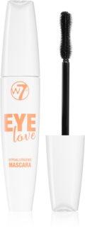 W7 Cosmetics Eye Love Hypoallergenic maskara za volumen in podaljšanje trepalnic