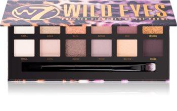 W7 Cosmetics Wild Eyes палитра от сенки за очи