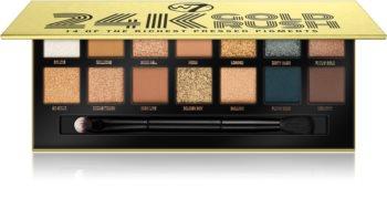 W7 Cosmetics 24K Gold Rush paleta cieni do powiek