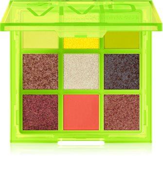W7 Cosmetics Vivid paleta očních stínů