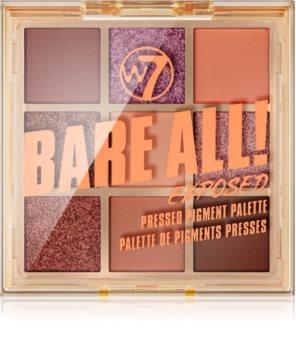 W7 Cosmetics Bare All palette de fards à paupières