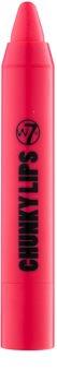 W7 Cosmetics Chunky Lips hidratáló krém rúzs