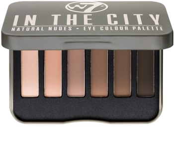 W7 Cosmetics In the City paleta očních stínů