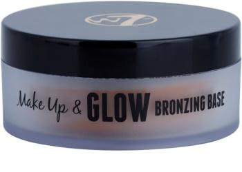 W7 Cosmetics Make Up & Glow polvos bronceadores en crema