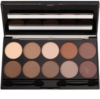 W7 Cosmetics 10 Out of 10 paleta de sombras de ojos