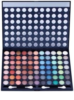 W7 Cosmetics Paintbox paleta de sombras de ojos con espejo y aplicador