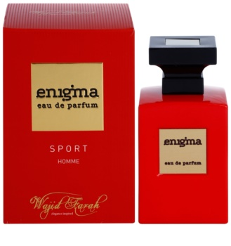 Wajid Farah Enigma Sport parfémovaná voda pro muže 100 ml