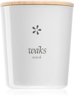 Waks Musk scented candle