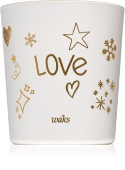 Waks Gold Amber scented candle