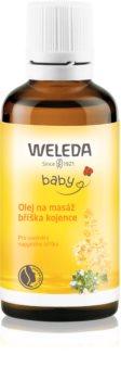 Weleda Pregnancy and Lactation huile de massage ventre de bébé