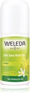 Weleda Citrus deodorant roll-on bez obsahu hliníkových solí