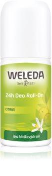 Weleda Citrus дезодорант рол-он без съдържание на алуминиеви соли