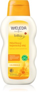 Weleda Baby and Child huile au calendula nourrissons sans parfum