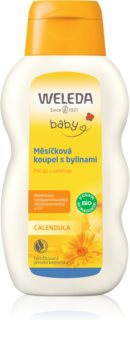Weleda Baby and Child baie cu gălbenele și plante aromatice