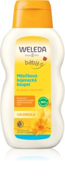 Weleda Baby and Child продукт за вана за бебете с невен