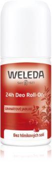 Weleda Pomegranate дезодорант рол-он без съдържание на алуминиеви соли 24 часа