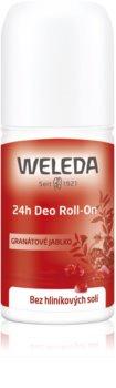 Weleda Pomegranate deodorante roll-on senza sali di alluminio 24 ore