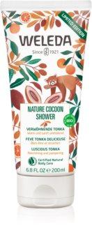 Weleda Nature Cocoon Shower jemný sprchový krém pro výživu a hydrataci