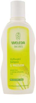 Weleda Hair Care подхранващ шампоан с просо за нормална коса