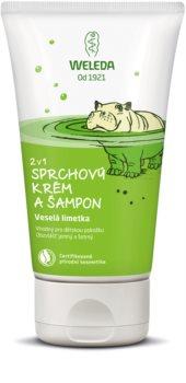 Weleda Kids Veselá limetka sprchový krém a šampon pro děti 2 v 1