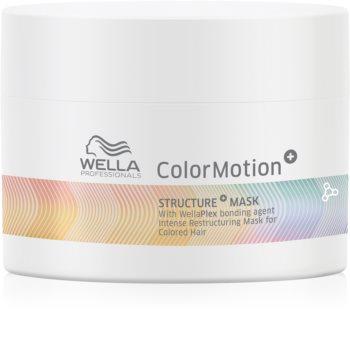 Wella Professionals ColorMotion+ Hiusnaamio Värin Suojaamiseen
