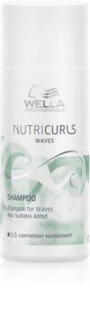 Wella Professionals Nutricurls Waves хидратиращ шампоан за чуплива коса