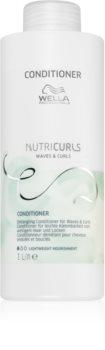 Wella Professionals Nutricurls Waves & Curls подхранващ балсам за по-лесно разресване на косата