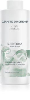 Wella Professionals Nutricurls Waves & Curls Balsam de curățare pentru par ondulat si cret