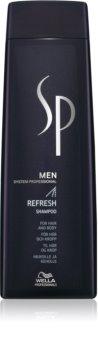 Wella Professionals SP Men champô refrescante para cabelo e corpo
