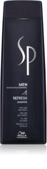 Wella Professionals SP Men champú refrescante para cabello y cuerpo