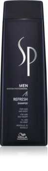 Wella Professionals SP Men erfrischendes Shampoo für Haar und Körper