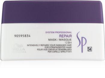 Wella Professionals SP Repair Mask För skadat, kemiskt behandlat hår