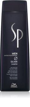 Wella Professionals SP Men šampon pro šedivé vlasy