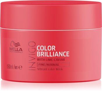 Wella Professionals Invigo Color Brilliance Hydratisierende Maske für feines bis normales Haar