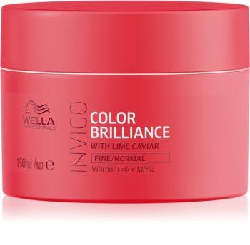 Wella Professionals Invigo Color Brilliance vlažilna maska za tanke do normalne lase