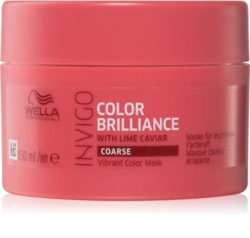 Wella Professionals Invigo Color Brilliance маска за гъста боядисана коса