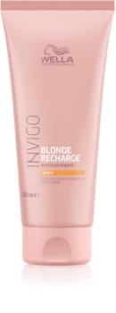 Wella Professionals Invigo Blonde Recharge Conditioner zum Belebenn von blonder Haarfarbe